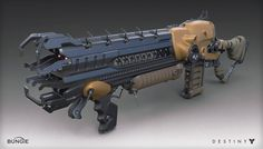 ArtStation - Destiny - House of Wolves - Lord of Wolves Shotgun, Mark Van Haitsma