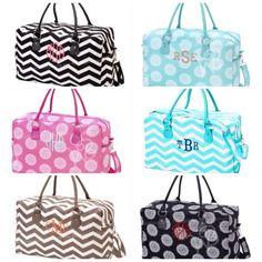 Personalized Weekender Bag Luggage