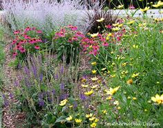 A perennial bed offers beauty for the gardener and nourishment for the ecosystem. Follow Julie at Southern Wild Designs as she shares the perennial garden she carved out of a corner of her lawn. || @southwilddesign