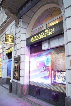 #Pharao #Szolárium Broadway Shows, Neon Signs, Tv, Television Set, Tvs, Television