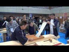 Video: Wood planing competition in Uwajima 2012
