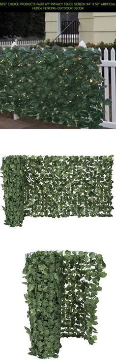 "Best Choice Products Faux Ivy Privacy Fence Screen 94"" X 59"" Artificial Hedge Fencing Outdoor Decor #gadgets #plans #for #fpv #racing #fence #technology #decor #tech #products #shopping #camera #kit #parts #drone #outdoor"
