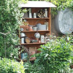 Insektenhotel aus altem Regal / Insect hotel made from old shelf /  Upcycling