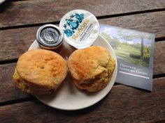 5 out of 5 for the magnificent scones at Claremont Landscape Garden!