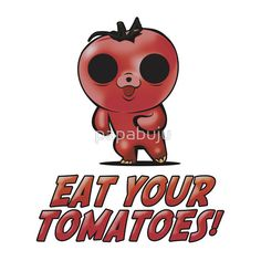 Eat Your Tomatoes - Pedobear -  Print themes are brand spoofs, zen, health & fitness, typography, design apparels, sports, children and funny. Merchandise range from male/female/children t-shirts,mugs, buttons, hats, post cards, business cards, mobile cases, stickers, wall Art, home Decor, stationery,tote bags,gift certificates and more!  More awesome designs at: http://www.zazzle.com/bujutshirtshop* http://www.redbubble.com/people/papabuju https://www.facebook.com/avbtp  #avbtp