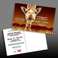 Design for Union County Chamber of Commerce Annual Dinner Meeting at the Columbus Zoo.