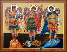 Oh amados Arcángeles que brilláis en lo alto de los Cielos y desde el principio de los tiempos sois los portadores de la Luz del Padre Todopoderoso yEterno, de Dios infinitamente bueno ymisericordioso, a vosotros que con amor nos protegéis y auxiliáis en nuestro duro peregrinar por la tierra, con toda humildad os pido que sigáis siendo mis guardianes, con toda esperanza os ruego mis benditos tres Arcángeles, san Miguel, san Gabriel y san Rafael, que abráis mis caminos y aportéis luz y…