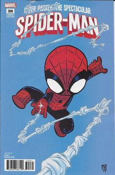 Peter Parker Spectacular Spider-Man comic #300 Limited Skottie Young variant