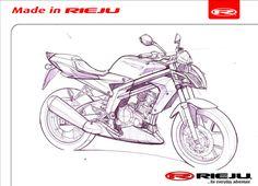 Cómo se hace / Comment on fait - http://blog.rieju.es/dibujo-prototipo-rieju-rs3-naked/