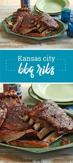 Kansas City BBQ Ribs – Give your ribs great flavor with our part-baked, part-grilled Kansas City BBQ Ribs recipe. Your family will be nothing but smiles when you serve up this saucy dish this summer.