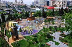 Детская площадка на Zorlu Центр по Carve