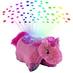 Looking for Pillow Pets Colorful Pink Unicorn Sleeptime Lite Plush ? Check out our picks for the Pillow Pets Colorful Pink Unicorn Sleeptime Lite Plush from the popular stores - all in one. Unicorn Pillow Pet, Pillow Pets, Starry Night Sky, Night Light, Pink Pillows, Light Covers, Animal Pillows, Imaginative Play, Light Decorations