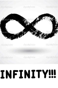 Infinity Sign made by pic collage