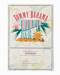 Collector's Series Marlin Bar Camp Shirt Classic Cocktails, Bar Drinks, Fun Prints, Tommy Bahama, The Collector, Original Artwork, Shirts, Dress Shirts, Shirt