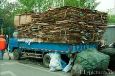 Recycling in China Web Design, Beijing, Firewood, Cities, Recycling, Landscapes, China, Contemporary, Pictures