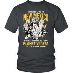 Super Saiyan - New Mexico - Men Short Sleeve T Shirt - TL00086SS