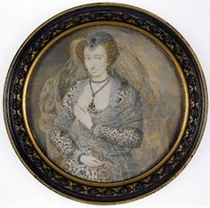 Isaac Oliver: The Countess of Bedford,c1610