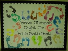 Welcome Back To School Bulletin Boards Ideas | Back to School Inspirational Preschool Bulletin Board Idea
