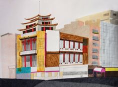 Chinatown Pagoda / Naomi Kuo