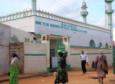 Mosque in Mwingi, Kenya not far from our Risen Scepter pastor training center