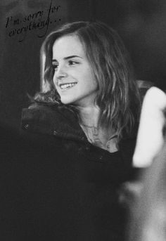 """Emma in """"Harry Potter And The Deathly Hallows part Hermione Granger, Harry And Hermione, Draco Malfoy, Ron Weasley, Severus Snape, Mundo Harry Potter, Harry Potter Cast, Harry Potter Movies, Harry Potter World"""