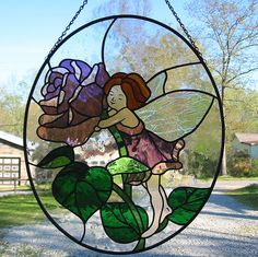 The Rose Fairy by livingglassart home of oddballs and oddities, via Flickr