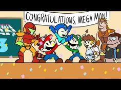 How one of the most popular webcomics around welcomed #megaman to #smashbros