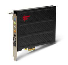 Mikäli kotitatteri joskus pystytetään, niin audio on ainakin tällä taattu!  Sound Blaster  X-Fi Titanium FATAL1TY PRO