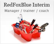 RedFoxBlue Interim Manager Trainer Coach