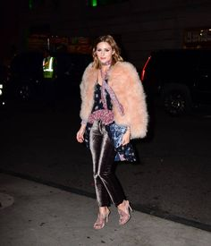 Olivia Palermo arrives to the 2017 FGI Night Of Stars Modern Voices gala at  Cipriani Wall 5b74787f2ca5