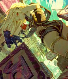 Gravity Rush by toniinfante on DeviantArt