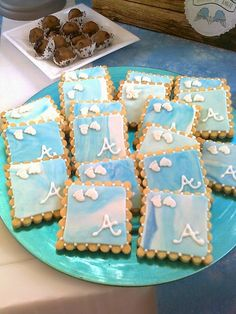 Astoria: Bautizo de Ángel - Recordatorio (galletas)