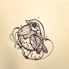#fatrobin #robin #tattoo