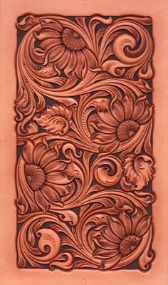 Diy Leather Stamp, Leather Art, Custom Leather, Leather Tooling, Tooled Leather, Handmade Leather, Leather Jewelry, Leather Carving, Leather Engraving