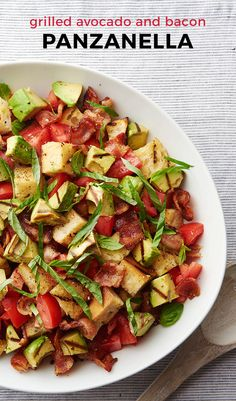 This delicious bacon and avocado grilled bread salad will dominate the salad category at your next summer potluck, but it might taste even better straight from the fridge the next morning when all the guests are gone! Panzanella this easy and this delicious? Yes please!