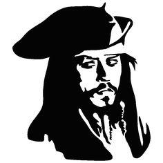 Jack Sparrow_-_Pirates of the Carribbean Dark Art Drawings, Pencil Art Drawings, Art Drawings Sketches, Sparrow Art, Jack Sparrow Drawing, White Art, Black Art, Decoration Pirate, Bob Marley Art