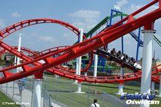 Milionowy w Energylandii #Zator #Energylandia #parkrozrywki #rollercoaster Roller Coaster, Parks, Roller Coasters, Parkas