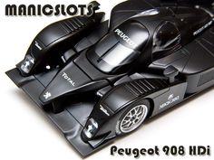 Slot Car, Scalextric, Peugeot 908