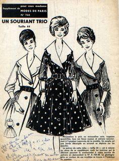 Très belle robe, col ample aux bords découpé en arrondi tombant sur les épaules, manches trois-quart resserrées dans un poignet, boutonnée tout le long devant, jupe froncée, - 7608121