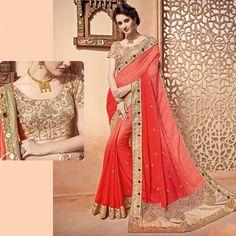 Bollywood designer sari Saree Wedding bridal blouse fabrics ethnic india Sarees #Shoppingover #Saree #WeddingPartywear