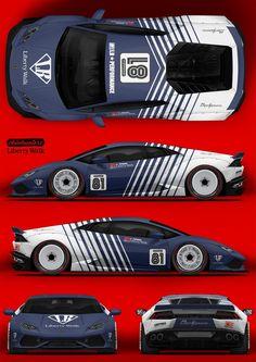Lamborghini - 車についてのすべて - Everything About The Car Sports Cars Lamborghini, Lamborghini Huracan, Car Stickers, Car Decals, Car Folie, Racing Car Design, Car Mods, Car Drawings, Modified Cars