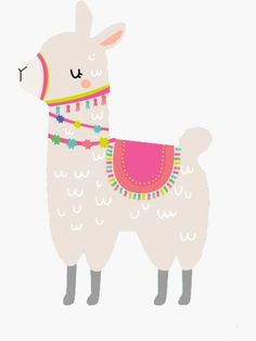 """Llama llama"" Sticker by jessicadenisem Alpacas, Baby Llama, Cute Llama, Wallpaper Iphone Cute, Cute Wallpapers, Felt Animals, Cute Animals, Alpaca Drawing, Llama Clipart"
