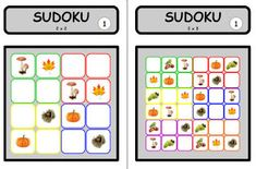 Crapouillotage: JEU : Sudoku de l'automne Games, Delphine, Voici, Learning, Fall Season, Environment, Food, Gaming, Plays