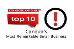 Canada's Top 10 Most Remarkable Small Businesses 2014 eOLIO creative.