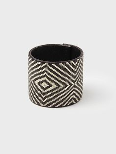 Diamond Pattern Cuff by Global Handmade Hope | DARA Artisans