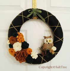 "cute  website: ""woodland Wreath"""