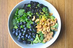 side dish – Make the Best of Everything Roasted Veggie Salad, Broccoli Salad, Broccoli Recipes, Salad Recipes, Healthy Meal Prep, Healthy Dinner Recipes, Healthy Eating, Clean Eating, Blueberry Salad