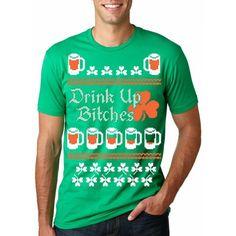 405ea8c1 Drink Up St. Patrick's Ugly Sweater #crazydogtshirts #stpatricksday #beer  #irish #