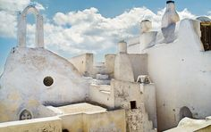 Known for his amazing landscapes, Petros Koublis immortalizes here the Greek islands of Tinos, located in the heart of the Aegean sea and Santorini, where is set up the luxury Vedema resort. A Well Traveled Woman, Stone Columns, Light Year, Santorini Greece, Beautiful Islands, Greek Islands, Architecture, Serenity, Mount Rushmore