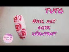 Nail art rose | Sharm effect - YouTube Art Rose, Rose Nail Art, Aquarium Nails, Semi Permanent, Youtube, Fun Nails, Pretty Nails, Tutorial Nails, Youtubers